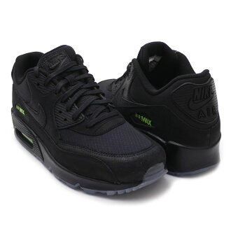 buy popular a2126 3cae4 Nike NIKE AIR MAX 90 Air Max BLACK/BLACK-VOLT AQ6101-001 men 191013195311  191013313311
