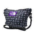 ザ・ノースフェイス パープルレーベル THE NORTH FACE PURPLE LABEL 19SS Logo Print Mesh Pouch S BLACK 新作 NN7924…