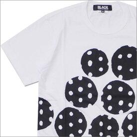 BLACK COMME des GARCONS ブラック コムデギャルソン PUNCH DOT TEE Tシャツ WHITE 200007776040x【新品】