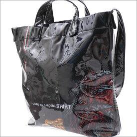 c7f50bc8261 COMME des GARCONS SHIRT コムデギャルソン シャツ PVC SHOULDER BAG ショルダーバッグ BLACK  277002521011x 新品