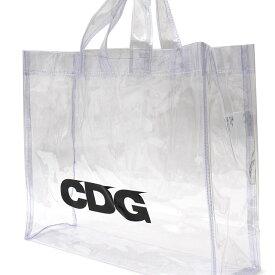 13902e4e56d CDG シーディージー TRANSPARENT PVC TOTE BAG トートバッグ CLEAR 277002526010x 新品  COMME  des