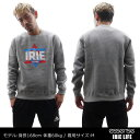 IRIE by Irie Life (アイリーライフ)x essense ExclusiveLOGO CREW [クルースウェット]GREY999-003850-032