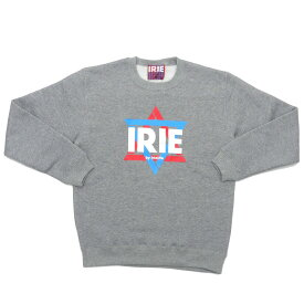 IRIE by Irie Life アイリーライフ x essense Exclusive LOGO CREW 【クルースウェット】 GREY 999003850032