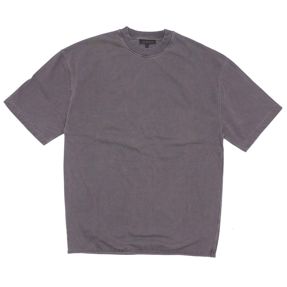 YEEZY SEASON 3 (イージー シーズンスリー) HEAVY KNIT TEE[Tシャツ][カニエ・ウエスト]ONYX DARK200-007259-031