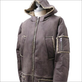GOSHA RUBCHINSKIY ゴーシャ・ラブチンスキー Hooded Sheepskin Coat コート BEIGE 420000064046+【新品】