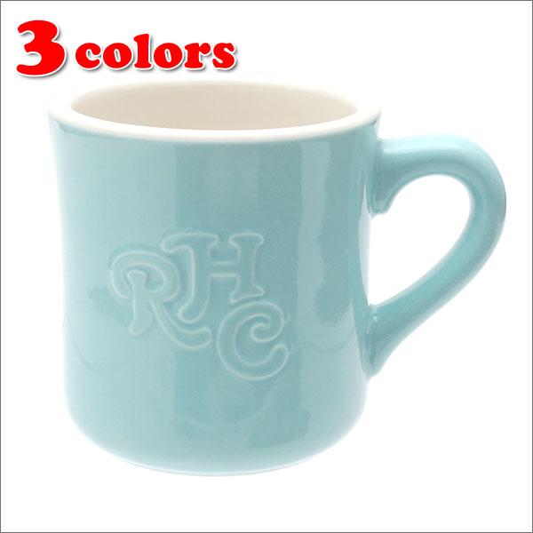 RHC Ron Herman(ロンハーマン) Emboss Logo Mug (マグカップ) 290-004139-010