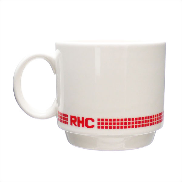 RHC Ron Herman(ロンハーマン) LIMITED STACK MUG (マグカップ) WHITE 290-004583-010x【新品】