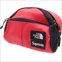 ed3e35dd790 Sold Out. SUPREME (シュプリーム) x THE NORTH FACE (the North Face) Leather Roo II  Lumbar Pack (bum-bag) ...