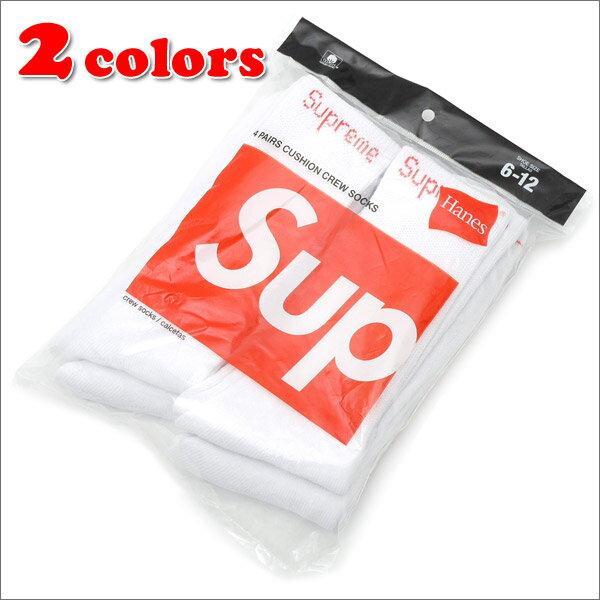 シュプリーム SUPREME Hanes Crew Socks 4足セット 290003826010