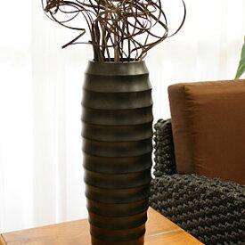 マホガニーウッド フラワーベース B フラワーベース 黒 おしゃれ 大きい 北欧 木製 花瓶 高級感 天然木 シンプル モダン アジアン 雑貨 バリ 造花 和室