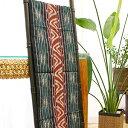 イカット 06 アジアン 布 壁掛け マルチカバー テーブルランナー タペストリー 手織り 生地 バリ アンティーク おしゃ…