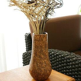 テラコッタ フラワーベース アンティークブラウン A Mサイズ 【 アンティーク 花瓶 大きい フラワーベース テラコッタ おしゃれ 大型 モダン 和 アジアン バリ 造花 アートプランツ ドライフラワー 】