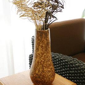 テラコッタ フラワーベース アンティークブラウン A Lサイズ アンティーク 花瓶 大きい フラワーベース テラコッタ おしゃれ 大型 モダン 和 アジアン バリ 造花 アートプランツ ドライフラワー