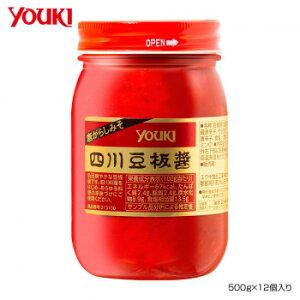 YOUKI ユウキ食品 四川豆板醤 500g×12個入り 213100 メーカー直送のため配送日時指定・同梱・代引不可※前払い決済は、支払い後の注文確定となります。