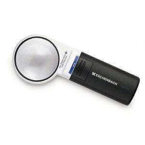 虫眼鏡 ledライト付き ギフト エッシェンバッハ mobiluxLED+mobase LEDワイドライトルーペ&専用スタンド 60mmΦ(6倍) 1511-6M 拡大鏡 読書 老眼 卓上 スタンドメーカー直送のため配送日時指定・