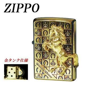 ギフト ジッポ ライター ZIPPO ウイニングウィニーグランドクラウン GDイブシ プレゼント かっこいい 金タンク メンズ 重厚 オイルメーカー直送のため配送日時指定・同梱・代引不可※前払