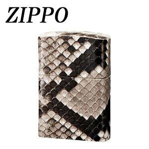 ライター zippo オイル ZIPPO 革巻 パイソン おしゃれ 日本製 手作り ギフト プレゼント ジッポー ジッポ 父の日メーカー直送のため配送日時指定・同梱・代引不可※前払い決済は、支払い後の