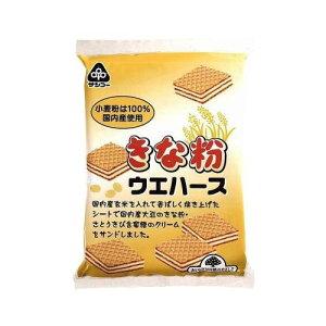 サンコー きな粉ウエハース 12袋 【同梱・代引き不可】