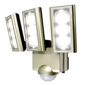 動き 人 車 ELPA(エルパ) 屋外用LEDセンサーライト AC100V電源(コンセント式) ESL-ST1203AC 自動点灯 白 3方向 検知 ガレージ 明るいメーカー直送のため配送日時指定・同梱・代引不可※前払い決済は