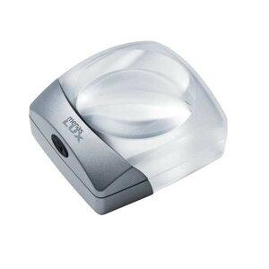 文字 拡大鏡 デスク エッシェンバッハ メナス・ルクス LEDライト付デスクトップルーペ (3倍) 1438-30 明るい 読書 照明付き リーディング 3xメーカー直送のため配送日時指定・同梱・代引