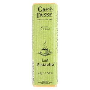 CAFE-TASSE(カフェタッセ) ピスタチオミルクチョコ 45g×15個セット メーカー直送のため配送日時指定・同梱・代引不可※前払い決済は、支払い後の注文確定となります。