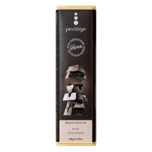 perlege(ペルレージュ) ステビア ミルクチョコ 42g×15個セット メーカー直送のため配送日時指定・同梱・代引不可※前払い決済は、支払い後の注文確定となります。