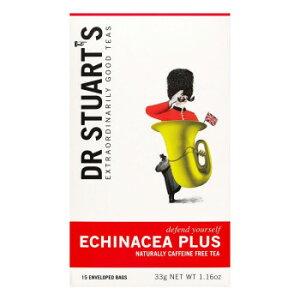 Dr STUART'S(Dr.スチュアート) エキナセアプラス 33g(15袋)×4個セット メーカー直送のため配送日時指定・同梱・代引不可※前払い決済は、支払い後の注文確定となります。