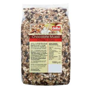 delba(デルバ) チョコレートミューズリー 1kg×10個セット 【同梱・代引き不可】