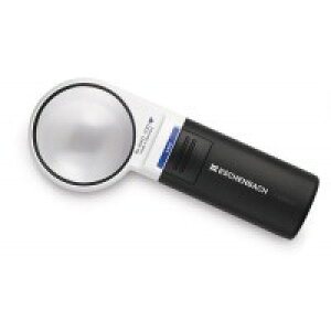 エッシェンバッハ LEDワイドライトルーペ LED ライト付手持ちルーペ 60mmφ(6倍) 1511-6 メーカー直送のため配送日時指定・同梱・代引不可※前払い決済は、支払い後の注文確定となります