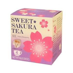 ティーブティック 桜茶 スイートサクラティー 桜花4P×20セット 52020 メーカー直送のため配送日時指定・同梱・代引不可※前払い決済は、支払い後の注文確定となります。