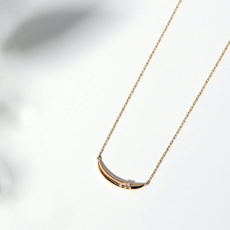 ネックレス レディース K10 k10 ダイヤモンド シンプル イエローゴールド 【 BLOOM ブルーム 】