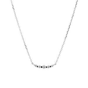 ネックレス レディース ダイヤモンド プラチナ シンプル 0.1カラット 【 BLOOM ブルーム 】 母の日 プレゼント 贈り物 ギフト 記念日 誕生日 ジュエリー アクセサリー ブランド