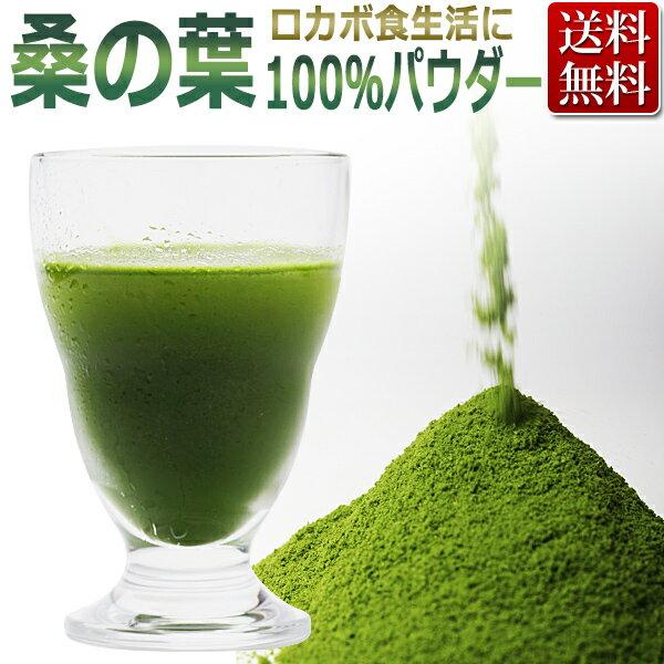 桑の葉 100% パウダー(粉末)500g / 国産 業務用 / T001