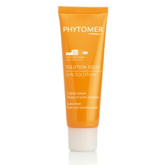 PHYTOMER Phytomer protective sun cream SPF30 50 ml / mineral block and sunscreen cream 10P02Aug14