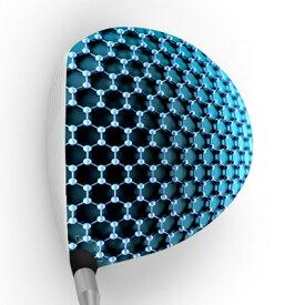 【メール便送料無料】 GOLFSKIN ゴルフスキン フルスキンF208 / ドライバー用グラフィックフィルム ゴルフ ヘッド シール