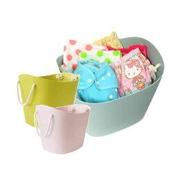 【洗濯 収納に抜群】バルコロールMサイズ おむつ おもちゃ 洗濯物の収納 人気 かわいい モノトーン ベージュ 黒 洗濯機