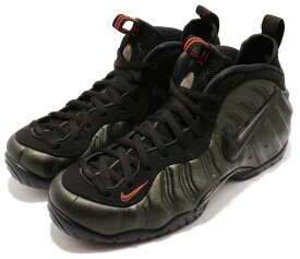 Nike Air Foamposite Proナイキ エア フォームポジット プロ メンズ バスケットボール シューズSEQUOIA/BLACK-TEAM ORANGE