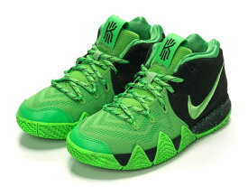 NIKE KYRIE 4 GS Spinach Green/Greenナイキ カイリー 4 GS レディース&キッズ バスケットボール シューズ【KYRIE IRVING】【カイリー・アービング】