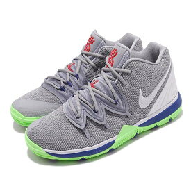 NIKE KYRIE 5 PS ナイキ カイリー 5 PS キッズ バスケットボール シューズWOLF GREY/WHITE-LIME BLAST 19-06-309