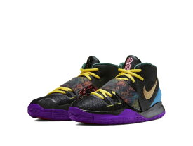 NIKE KYRIE 6 CNY GS BLACK/METALLIC GOLD-LASER BLUEナイキ カイリー 6 GS レディース&キッズ バスケットボール シューズ【KYRIE IRVING】【カイリー・アービング】