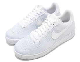 NIKE AIR FORCE 1 FLYKNIT 2.0ナイキ エア フォース 1 フライニット 2.0白灰 WHITE/PURE PLATINUM 19-06-349#7