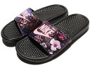 NIKE BENASSI JUST DO IT PRINT WOMEN'S SLIDEBlack/Prism Pinkナイキ ベナッシ ジャスト ドゥ イット ...