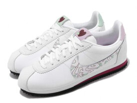 NIKE WMNS CLASSIC CORTEZ SEナイキ ウィメンズ クラシック コルテッツ レザー【VALENTINES DAY】SUMMIT WHITE/SUMMIT WHITE-NOBLE RED #7