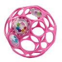 オーボール(oball)オーボール ラトル / ベビーピンク【ボール】【ラトル】【赤ちゃん】【ベビー】【がらがら】【ガ…