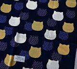 【手ぬぐいねこ紋】【捺染】【濱文様】通年柄てぬぐい小紋柄