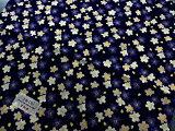 【手ぬぐい豆夜桜】【捺染】【濱文様】春柄てぬぐい小紋柄桜柄