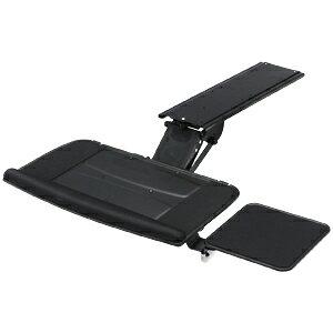 【訳あり 新品】木天板に後付けでき、角度・高さ可変のエルゴノミクスキーボードスライダー(受け台・マウステーブル付き) ※箱にキズ、汚れあり CR-KB2 サンワサプライ