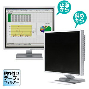 左右からの、のぞき見を防止できる液晶フィルター(19.0型ワイド対応) CRT-PF190WT サンワサプライ【送料無料】