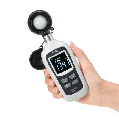 デジタル照度計(小型・学校・家庭・センサー・バックライト)