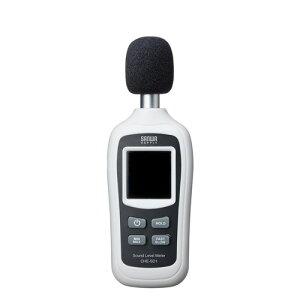 【割引クーポン配布中〜4/16 01:59まで】デジタル騒音計 小型 工事現場 屋外 バックライト CHE-SD1 サンワサプライ